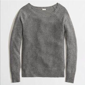 J.CREW Waffle Knit Sweater